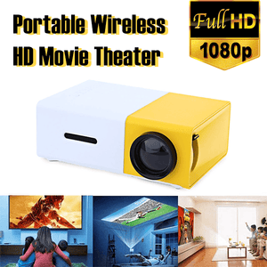 Portable Wireless HD Movie Theater