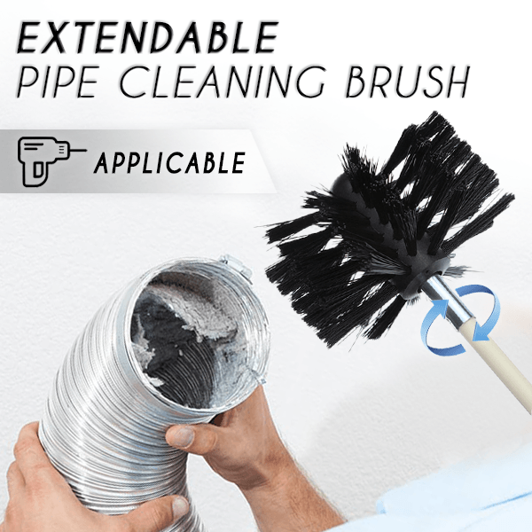 Extendable Pipe Cleaning Brush