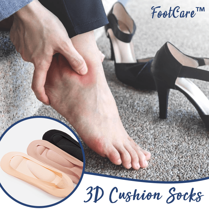 FootCare™ 3D Cushion Socks (2pcs)