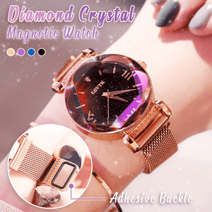 Diamond Crystal Magnetic Watch