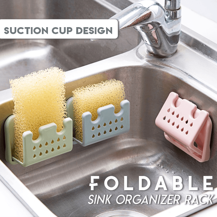 Foldable Sink Organizer Rack