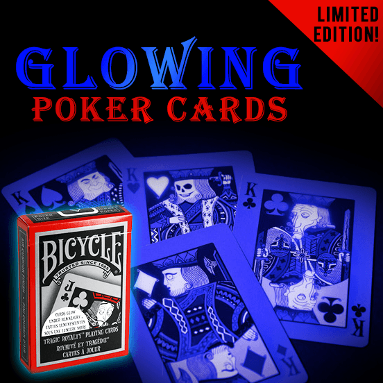 Bicycle (Limited Edition) Glowing Funny Poker Cards