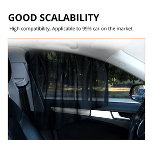 Magnetic Car Window Curtains (2PCS)