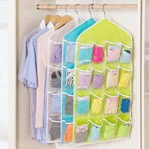 Wardrobe Hanging Organizer (16 Pockets)