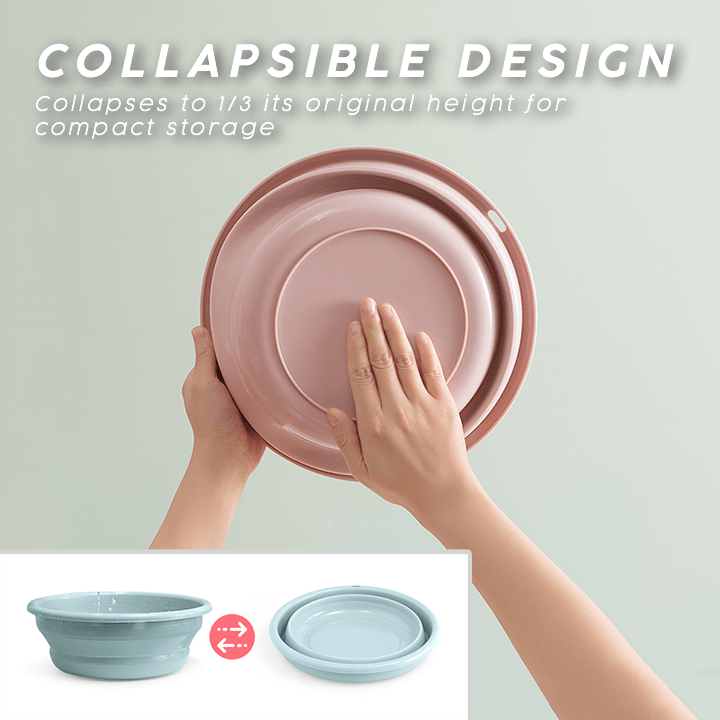 Multi-Purpose Collapsible Wash Basin