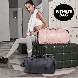 Wet-Dry Separated Gym Bag