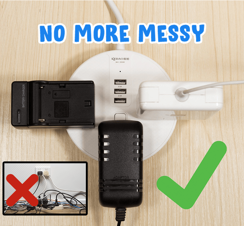 Multi-Function Power Strip