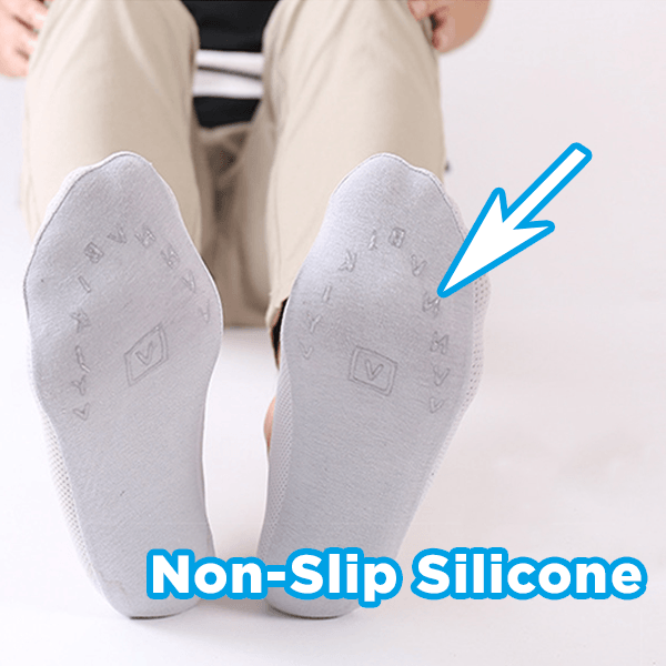 Invisible Ice Silk Socks (Set of 5)