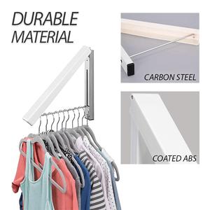 Foldable Wall-mounted Laundry Hanger