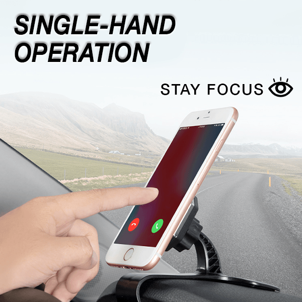 360° Magnetic Dashboard Phone Clip