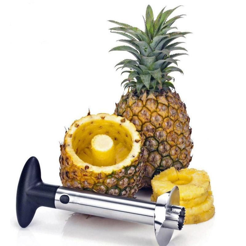 Stainless Steel Pineapple Core Peeler - Clevativity