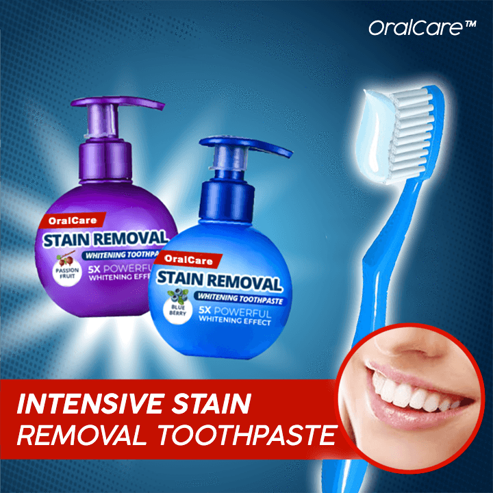 OralCare™ Stain Removal Toothpaste