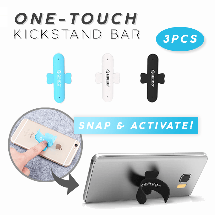 One-Touch Phone Kickstand Bar (3PCS)