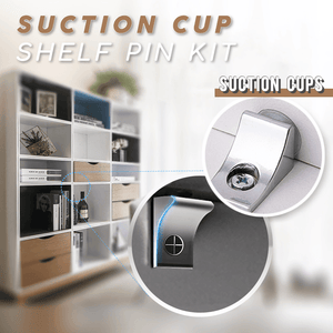 Suction Cup Shelf Pins Kit (12 PCS)