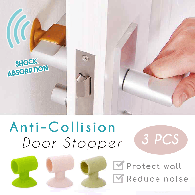 Anti-Collision Door Stopper (3 PCS)