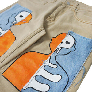 Denim X-Ray Jeans - Mykes Lab clothing streetwear tshirt tee sweater hoodie garments
