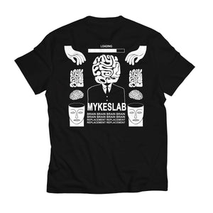 Brain Replacement Tee - Mykes Lab clothing streetwear tshirt tee sweater hoodie garments