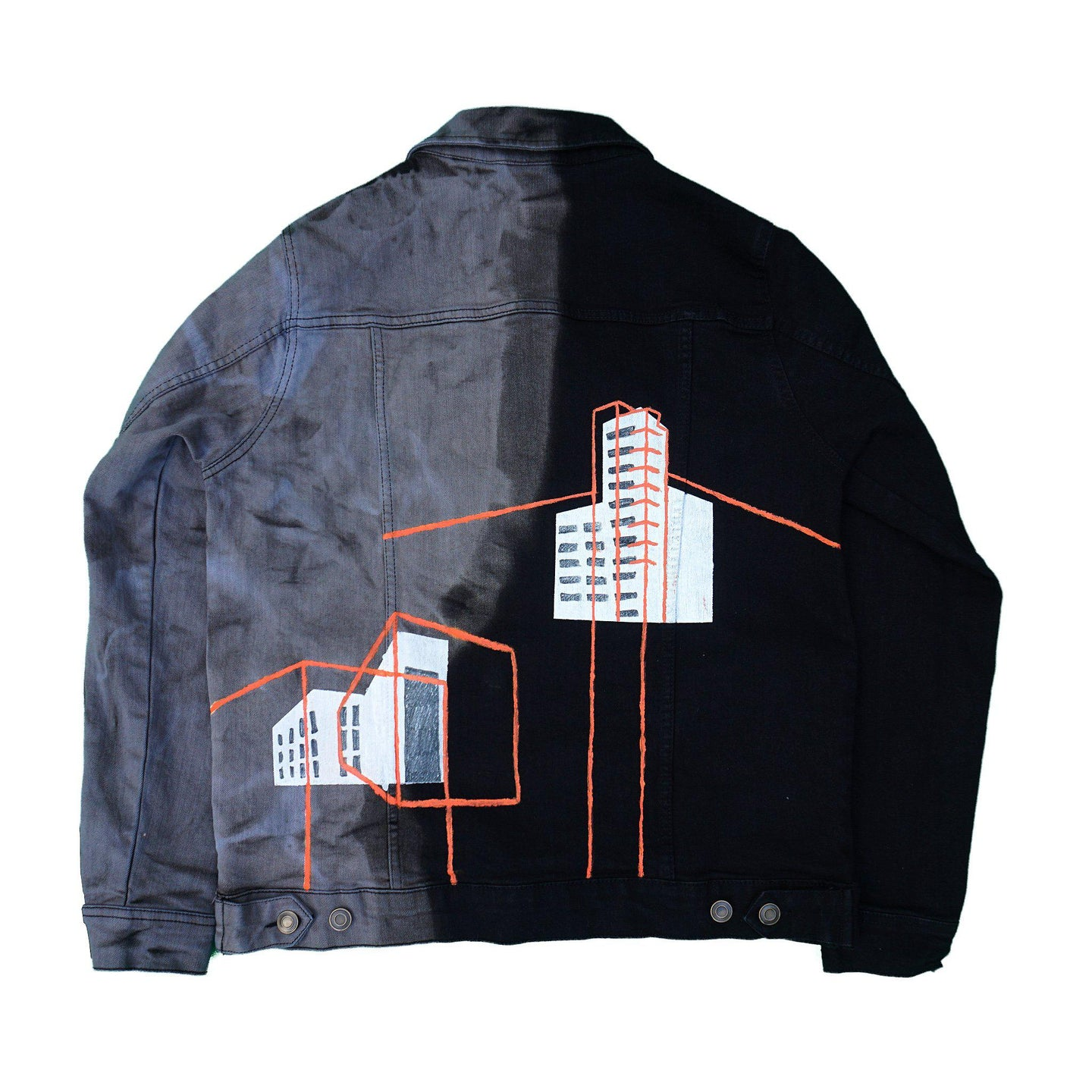 Acid Rain Denim Jacket - Mykes Lab