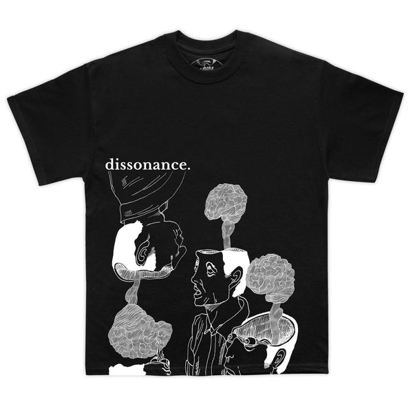 Black Dissonance Tee - Mykes Lab