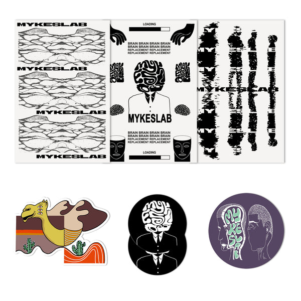 Autumn Sticker Pack - Mykes Lab clothing streetwear tshirt tee sweater hoodie garments