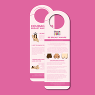 Courageous Breast Awareness Hanger