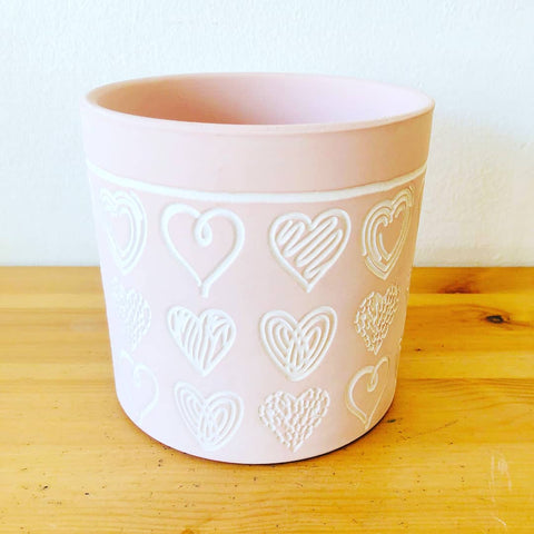 Heart Sketch Planter