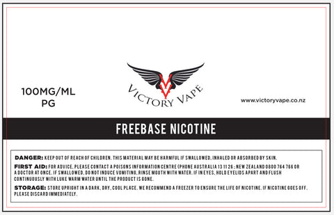 Unflavoured Nicotine