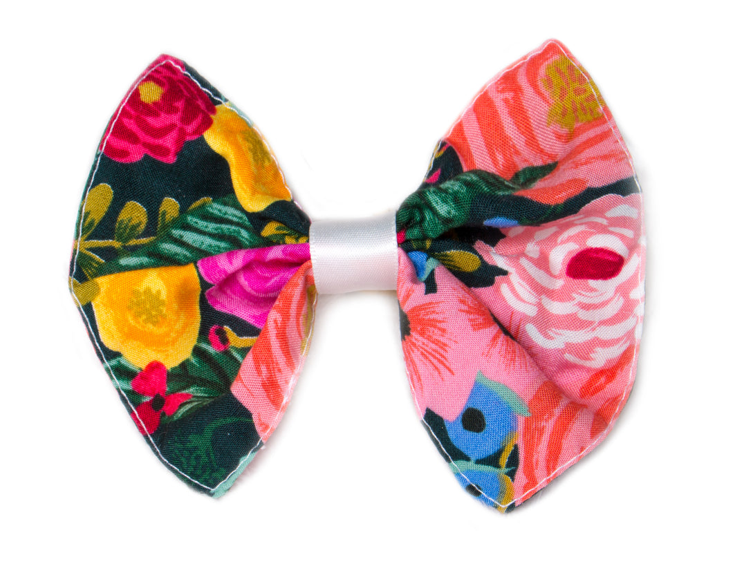 Flower Forest Baby Bow