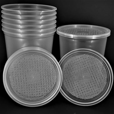 Mesh Waffle Vented Cups