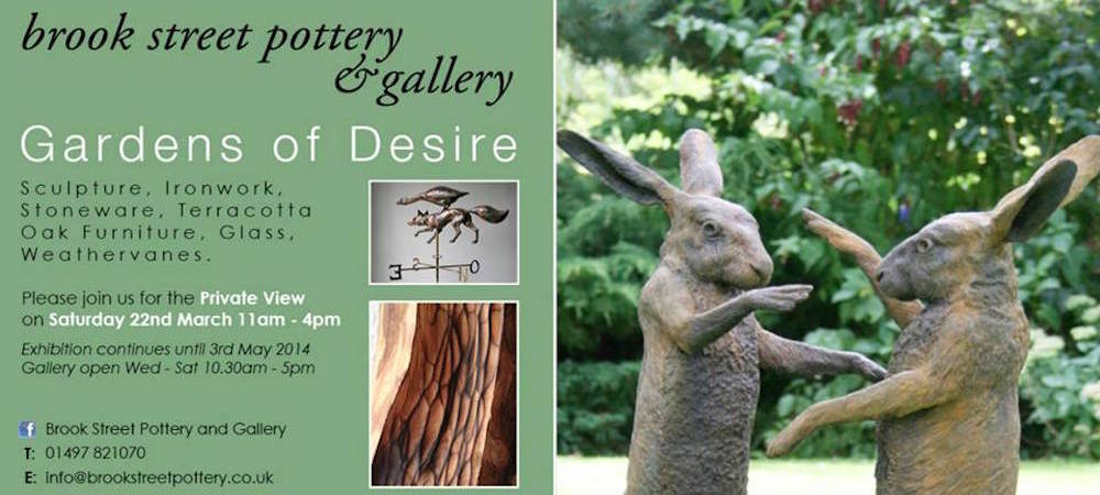 Gardens of Desire, 9 Artists, Garden Exhibition