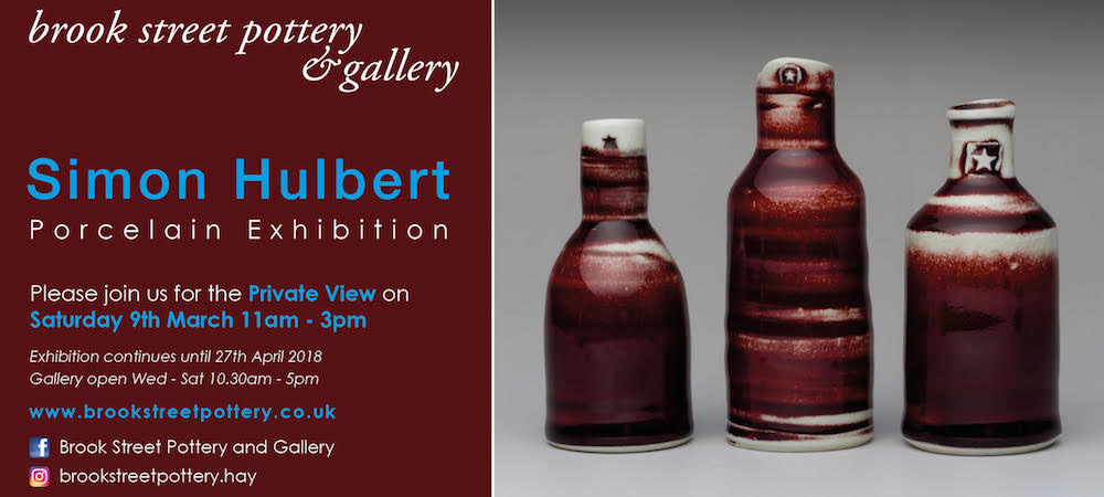 Simon Hulbert Porcelain Exhibition