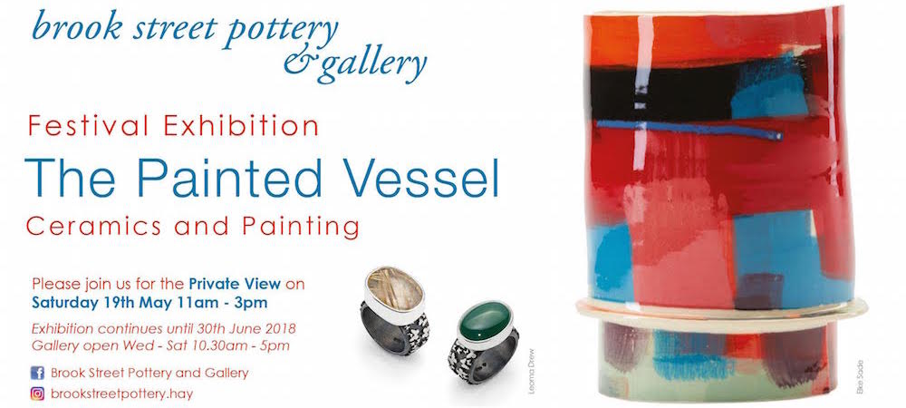 The Painted Vessel, Hay Festival Exhibition