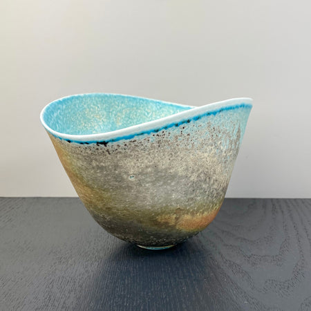 Oval Bowl by Jack Doherty SOLD