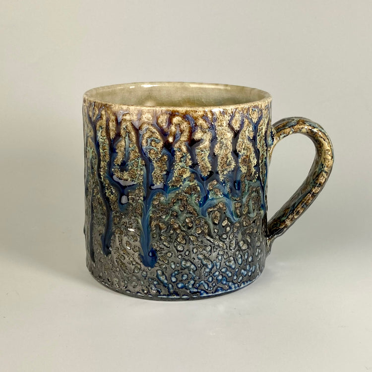 Large Salt-Glazed Mug