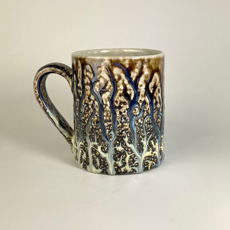 Large Salt glazed Mug