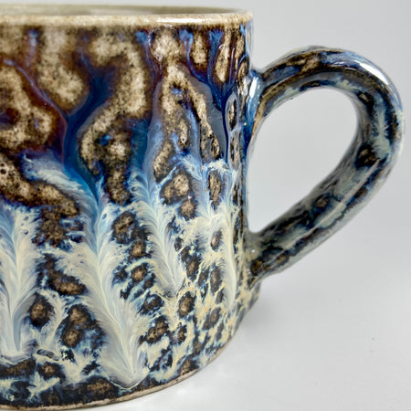 Salt-Glazed Coffee Mug
