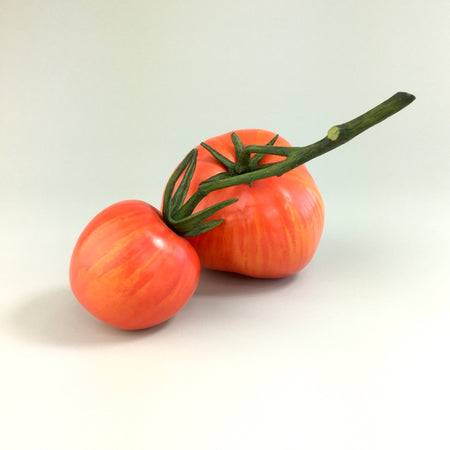 Ceramic Tomato / Red Stripe
