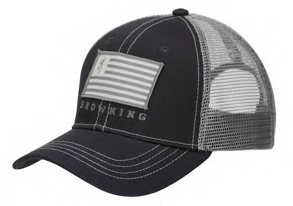 Brn Cap Patriot Mesh Bk Slate-gray - Outdoor Solutions And Services Crack In A Sack Oss Feed