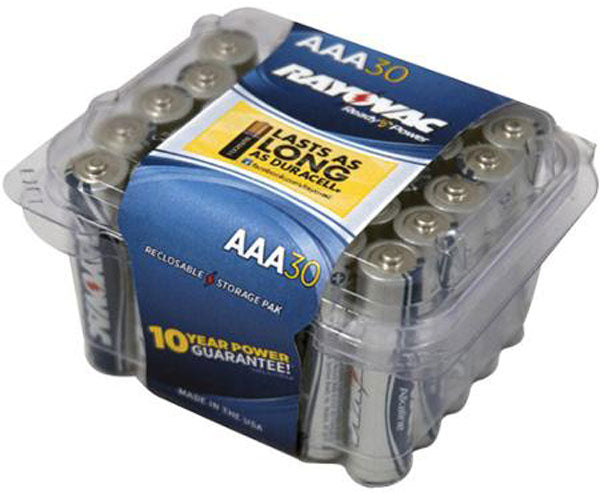 Ray-o-vac Alkaline Battery Aa 30pk - Outdoor Solutions And Services Crack In A Sack Oss Feed