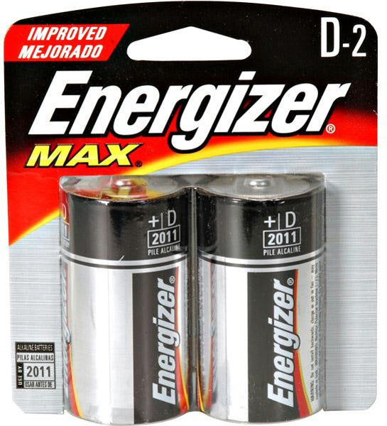 Ener Max Batteries D 2pk - Outdoor Solutions And Services Crack In A Sack Oss Feed
