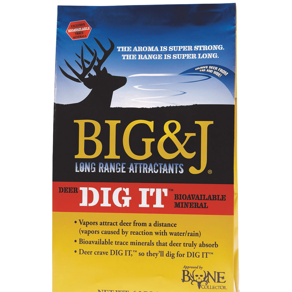 Big And J Deer Dig It Attractant 4.5 Lb. - Outdoor Solutions And Services Crack In A Sack Oss Feed