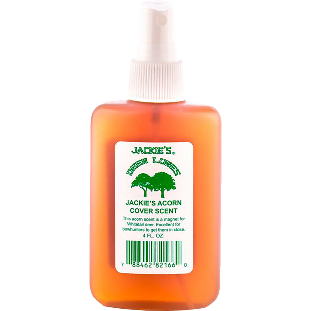 Jackies Acorn Cover Scent W-sprayer 4 Oz. - Outdoor Solutions And Services Crack In A Sack Oss Feed