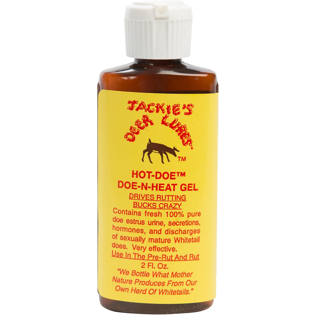 Jackies Hot Doe N-heat Flip Top 2 Oz. - Outdoor Solutions And Services Crack In A Sack Oss Feed