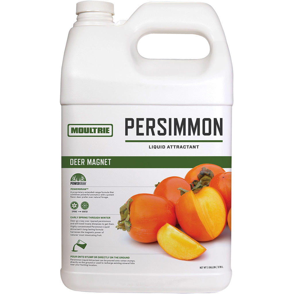 Moultire Deer Magnet Liquid Attractant Persimmon 1 Gal. - Outdoor Solutions And Services Crack In A Sack Oss Feed