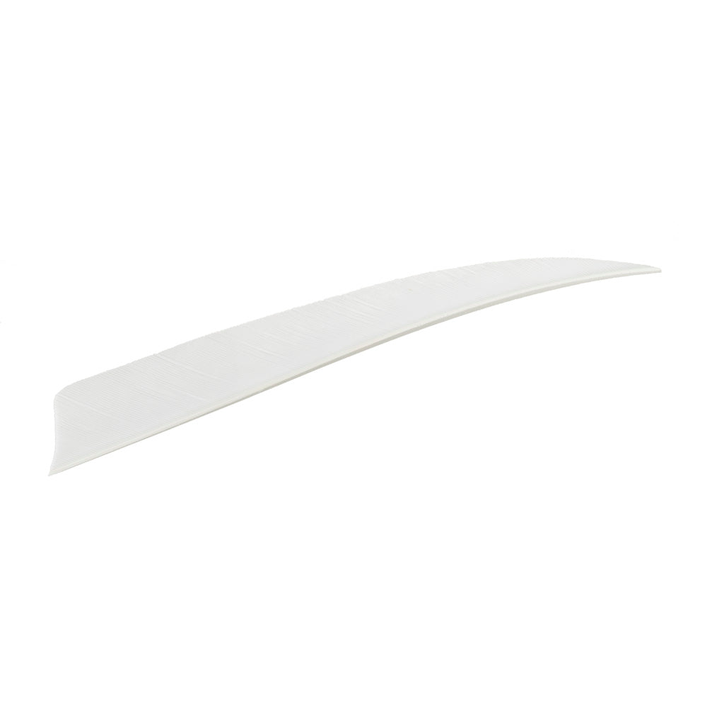 Trueflight Shield Cut Feathers White 4 in. LW 100 pk. - Outdoor Solutions And Services Crack In A Sack Oss Feed