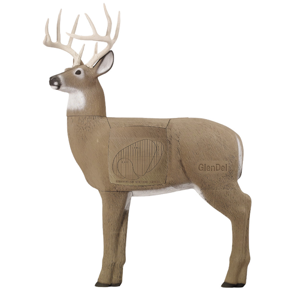 GlenDel Full-Rut Buck Target - Outdoor Solutions And Services