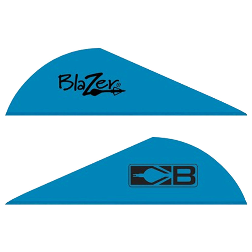 Bohning Blazer Vanes Satin Blue 36 pk. - Outdoor Solutions And Services Crack In A Sack Oss Feed
