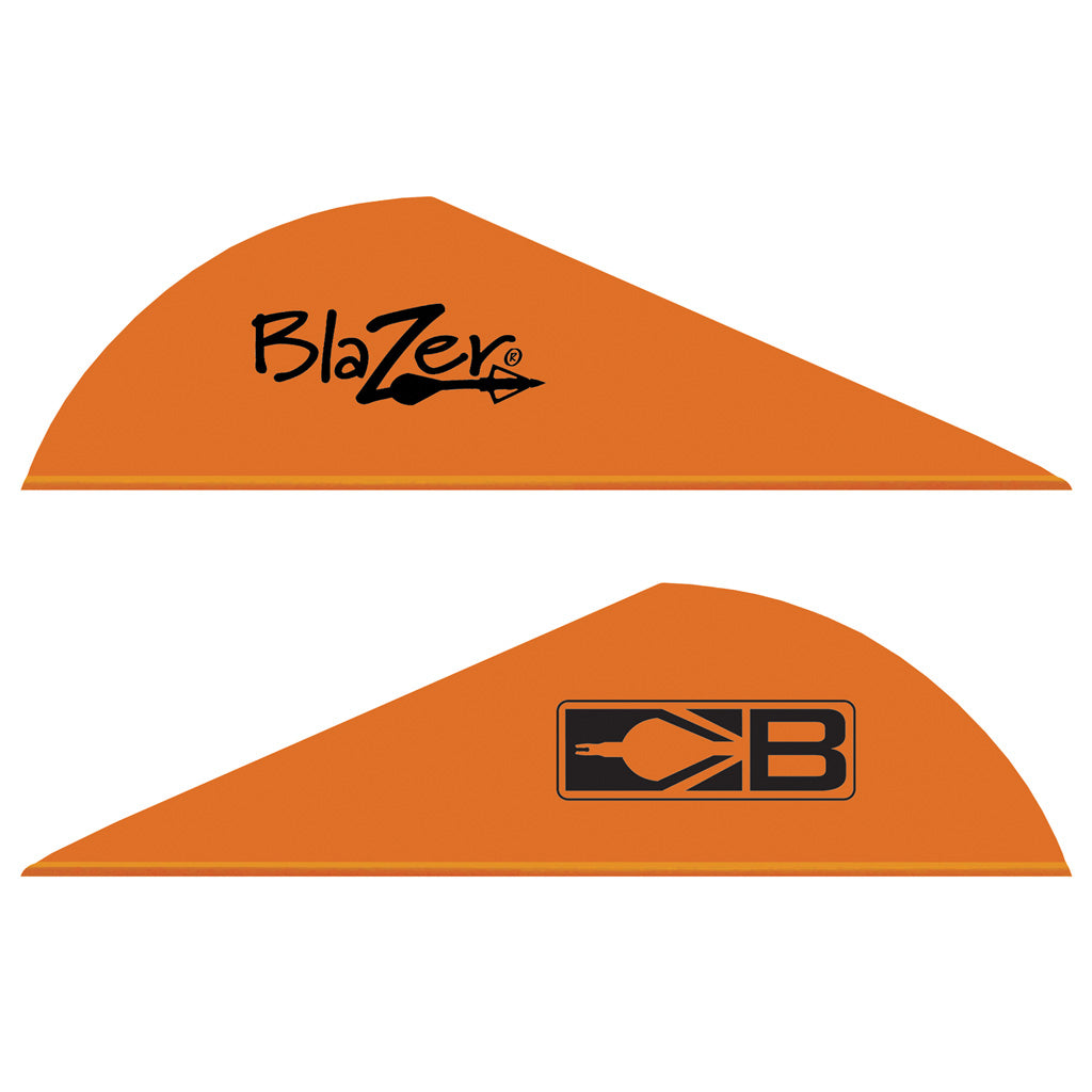Bohning Blazer Vanes Neon Orange 1000 pk. - Outdoor Solutions And Services