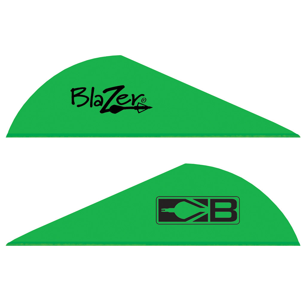 Bohning Blazer Vanes Neon Green 1000 pk. - Outdoor Solutions And Services Crack In A Sack Oss Feed