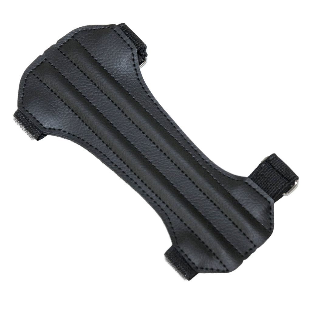 October Mountain Arm Guard 2 Strap Hunter Black - Outdoor Solutions And Services Crack In A Sack Oss Feed